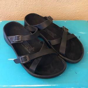 Birkenstock Black Tatami Sandals W8 M6